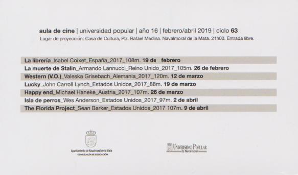 cine primavera 2019